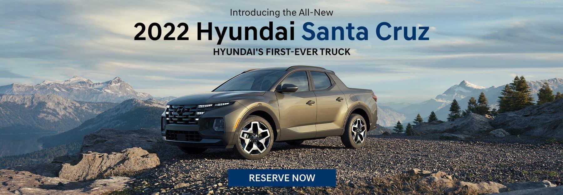 Reserve 2022 Hyundai Santa Cruz in Greenville, TX
