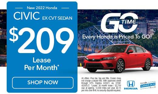 New 2022 Honda Civic Sedan