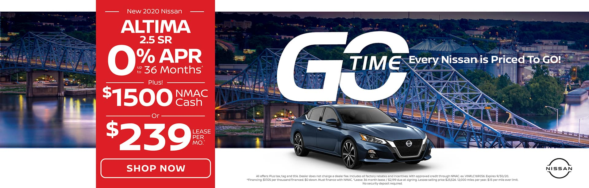 GO TIME - New 2020 Nissan Altima