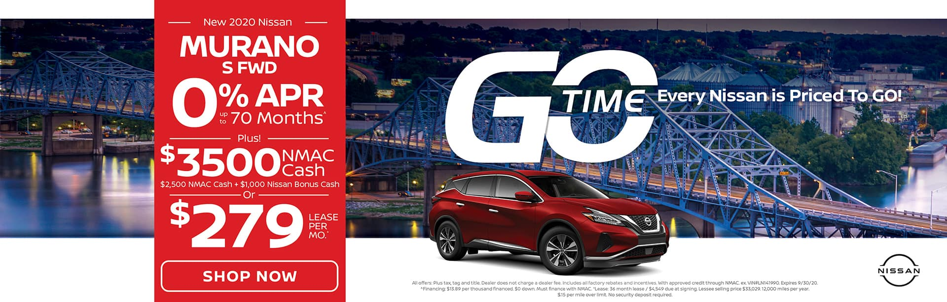 GO TIME - New 2020 Nissan Murano