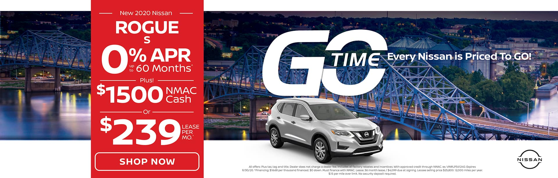 GO TIME - New 2020 Nissan Rogue