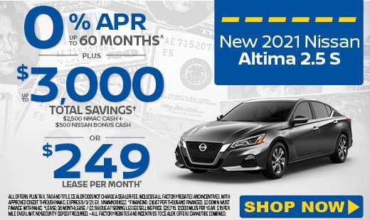 New Nissan Altima