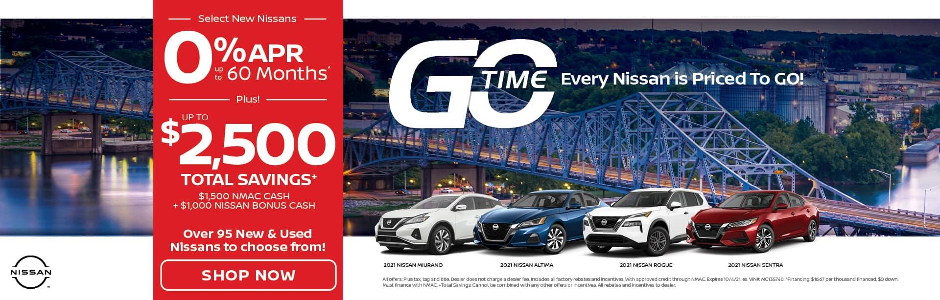Go Time New Nissans