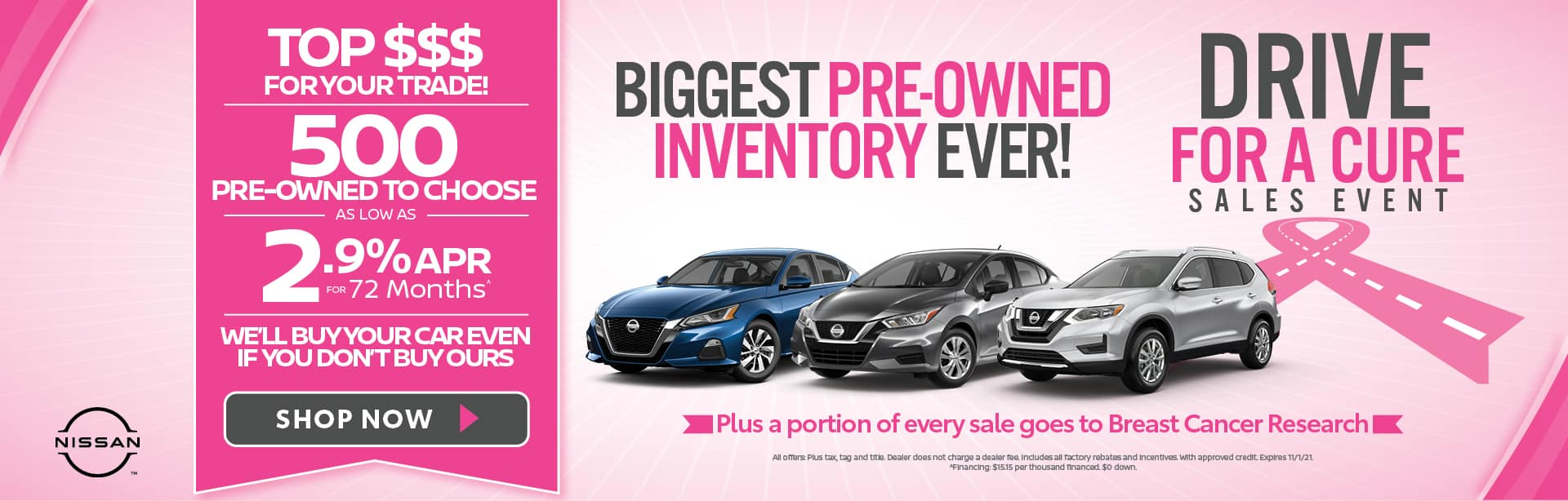 Biggest Pre-Owned Inventory Ever