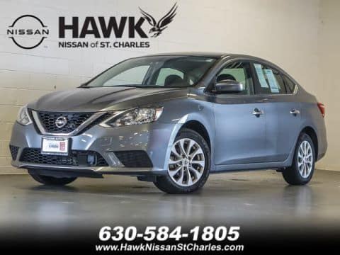 Get Behind the Wheel of a Used Nissan Sentra in St. Charles