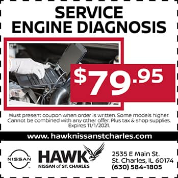 Service Engine Diagnosis | Hawk Nissan of St. Charles