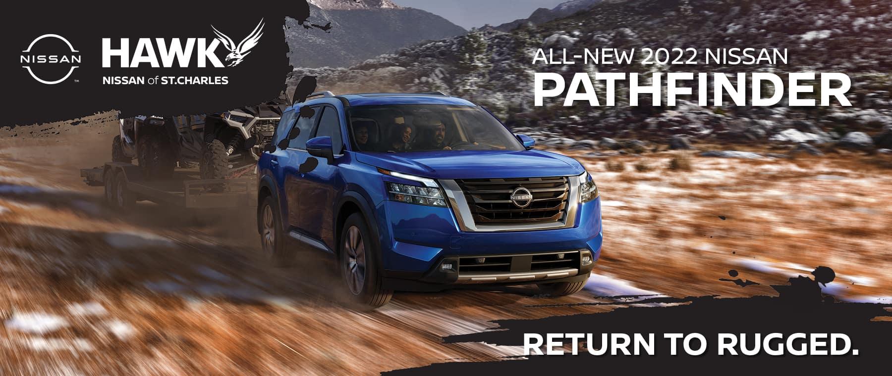 All New 2022 Nissan Pathfinder | Hawk Nissan of St. Charles
