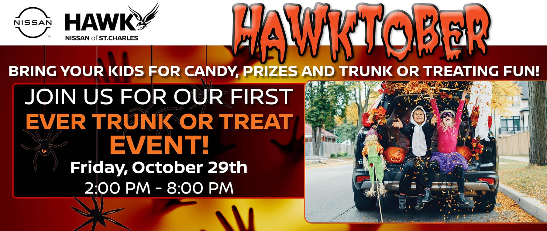 Trunk or Treat | Hawk Nissan of St. Charles