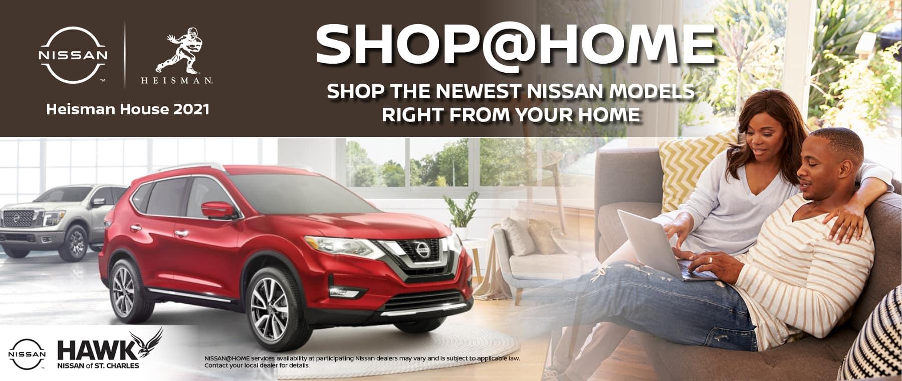 Shop at Home | Hawk Nissan of St. Charles