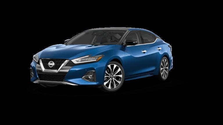 2021 Nissan Maxima Platinum - Deep Blue Pearl