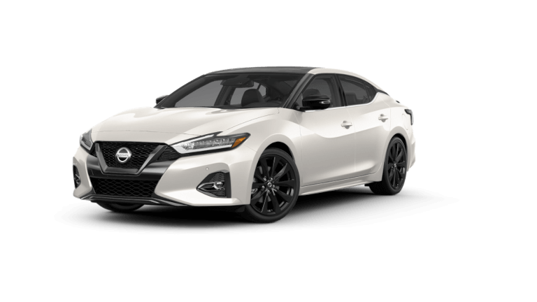 2021 Nissan Maxima SR - Pearl White