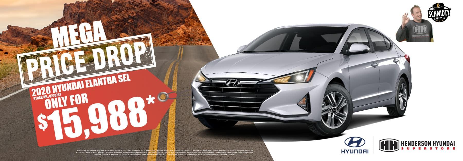 December-2020 Elantra Mega Pice Drop Henderson Hyundai