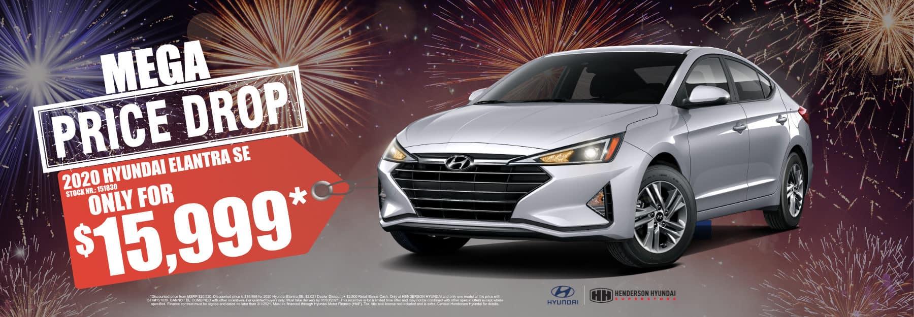 January_2021 Elantra Mega Pice Drop Henderson Hyundai