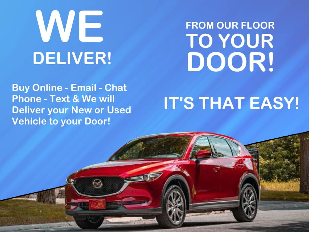 Holiday Mazda Delivers
