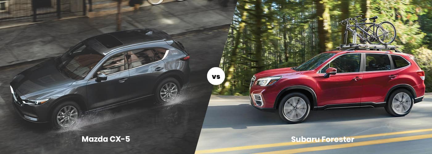 Mazda CX-5 vs Subaru Forester