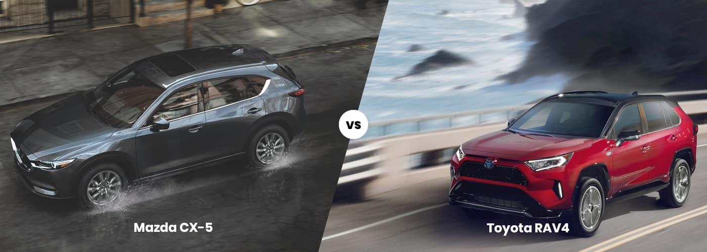 Mazda CX-5 vs. Toyota RAV4