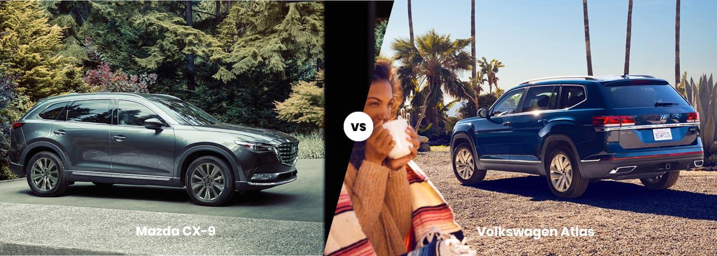 Mazda CX-9 vs Volkswagen Atlas