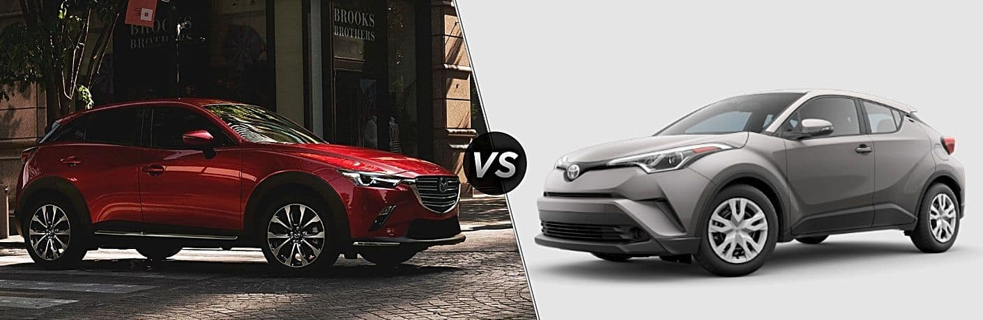 2019 Mazda CX-3 vs 2019 Toyota C-HR