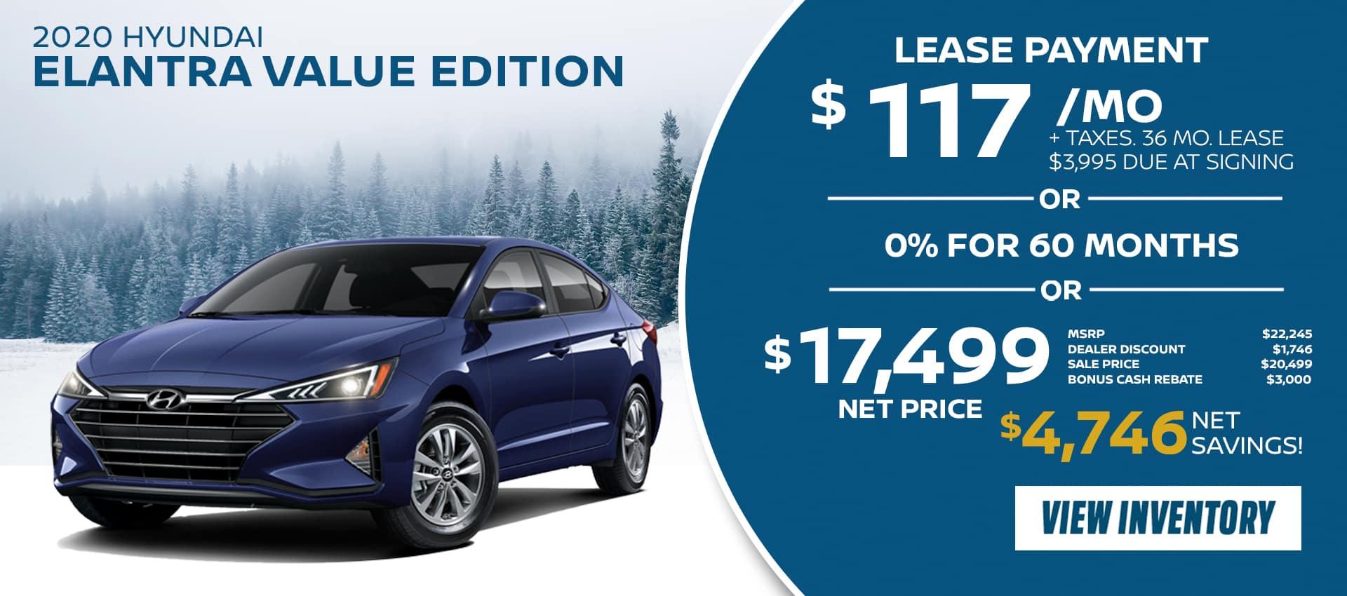 Hyundai Elantra Value
