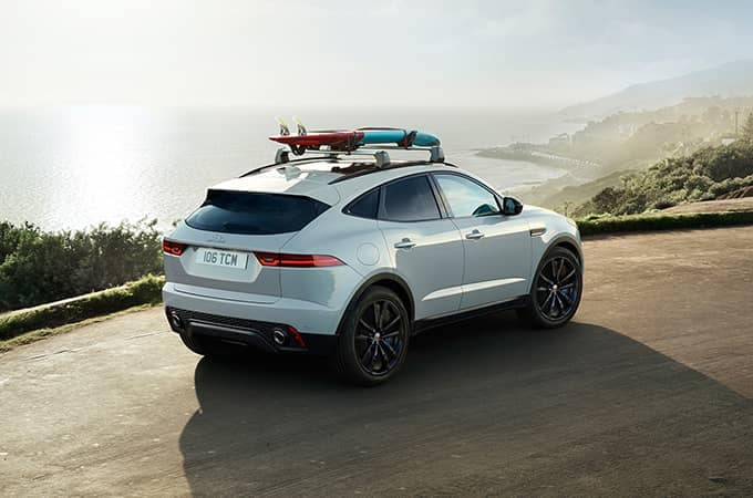 2020 Jaguar E-Pace Rear