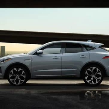 2020 Jaguar E-Pace Side View