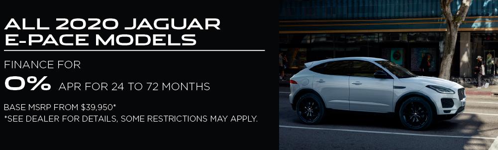 2020 Jaguar E-PACE models