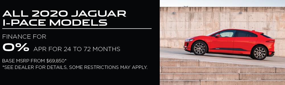 2020 Jaguar I-PACE models