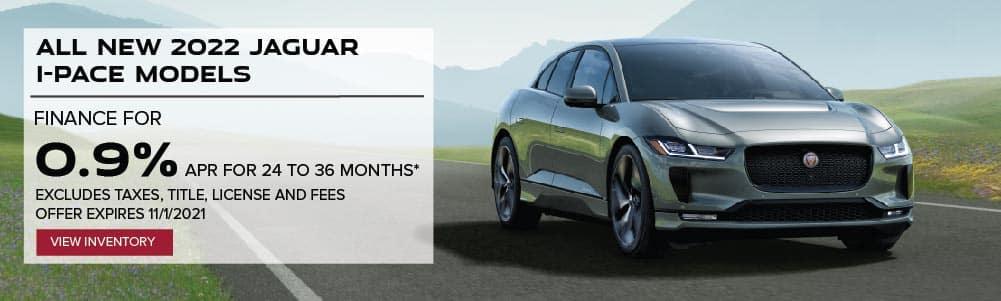 All New 2022 Jaguar I-PACE Models