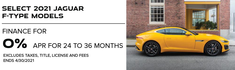 Select 2021 Jaguar F-TYPE Models