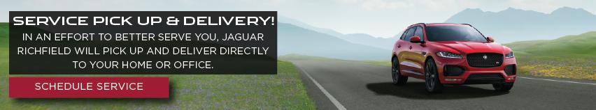 Jaguar Service Pickup and Delivery