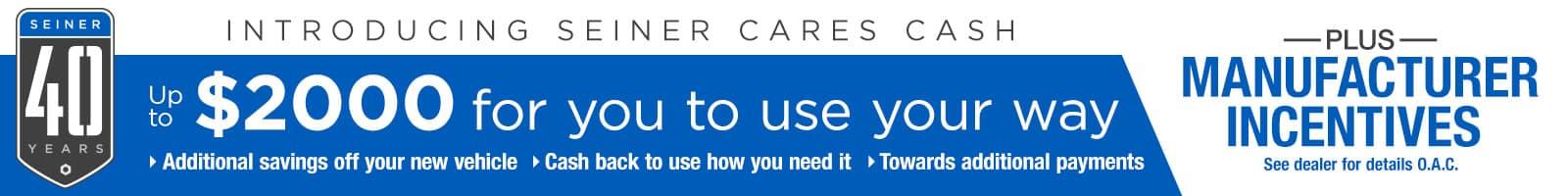Jerry Seiner Cares Cash