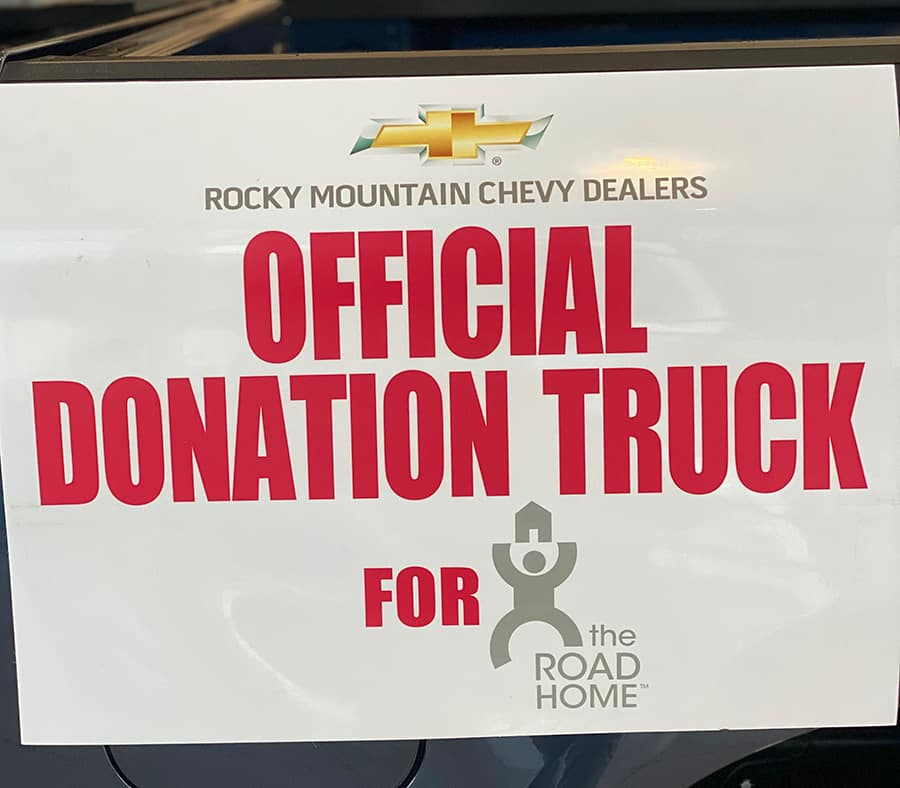 Official Donation Truck