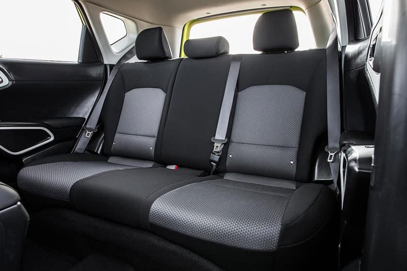 2021 Kia Soul Electric Vehicle Seating