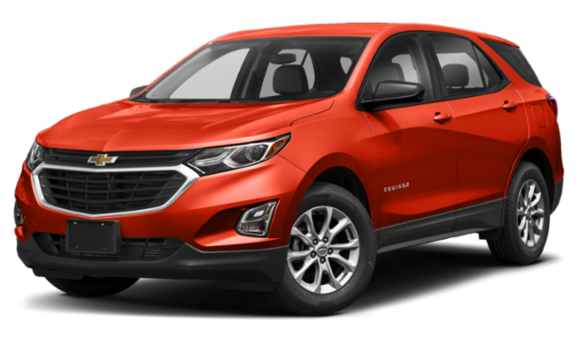 Red 2020 Chevy Equinox LS