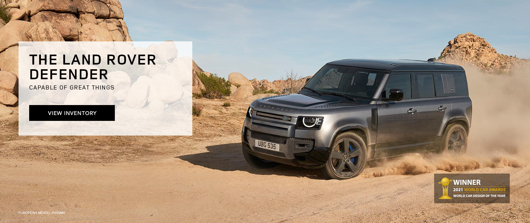 Land Rover Defender WCOTY DealerInspire Large 1800×760