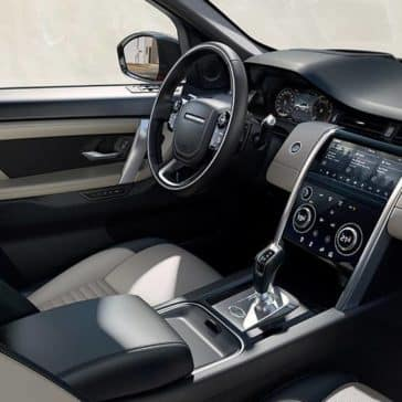 2020 Land Rover Discovery Sport Dash
