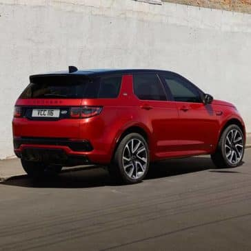 2020 Land Rover Discovery Sport Rear