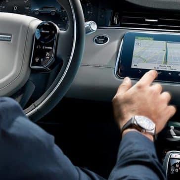 2020 Range Rover Evoque Navigation