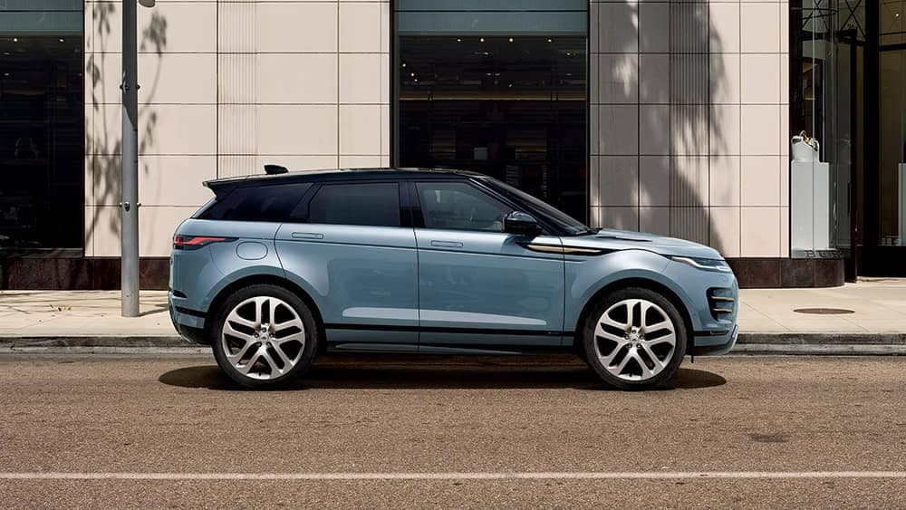 2020 Range Rover Evoque Side View