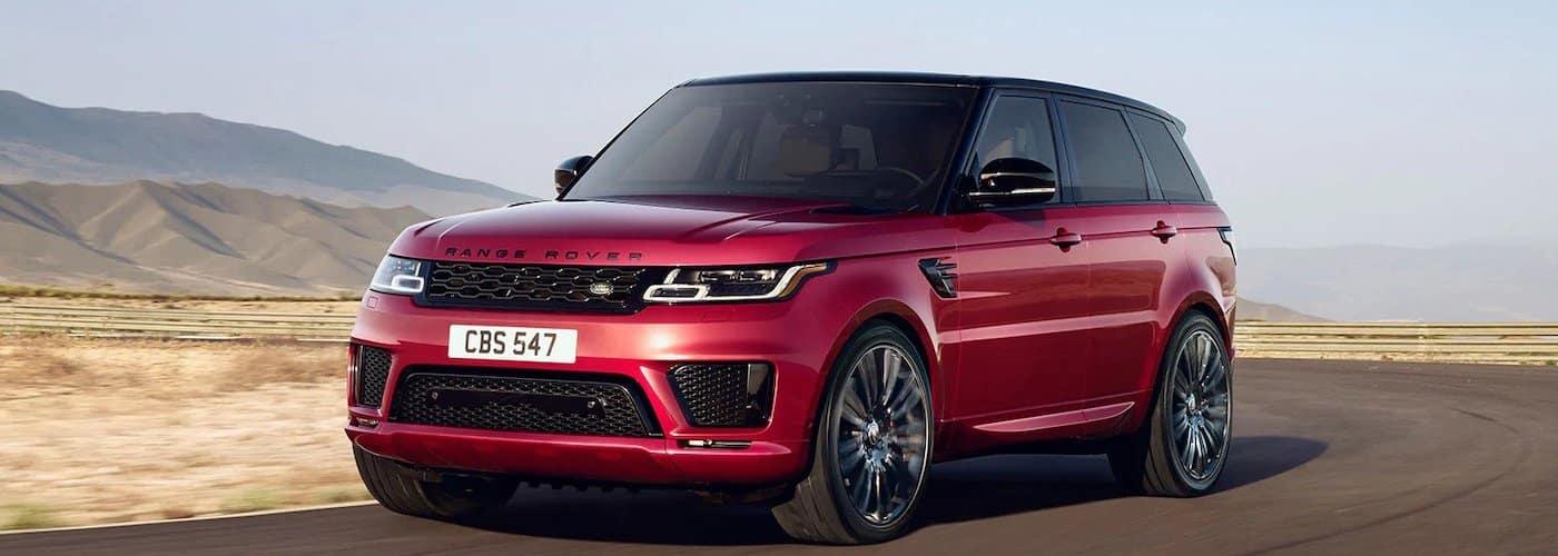 2021 Range Rover Sport red