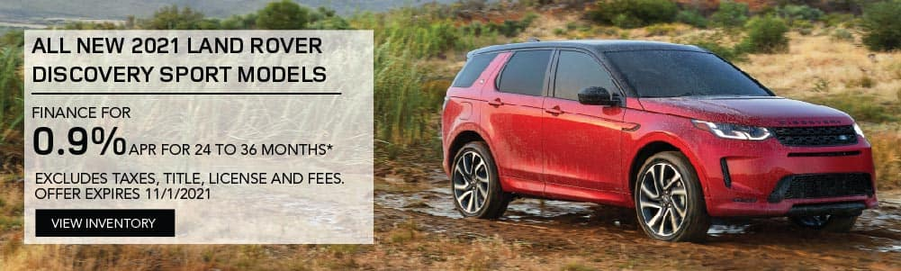 All 2021 Discovery Sport Models