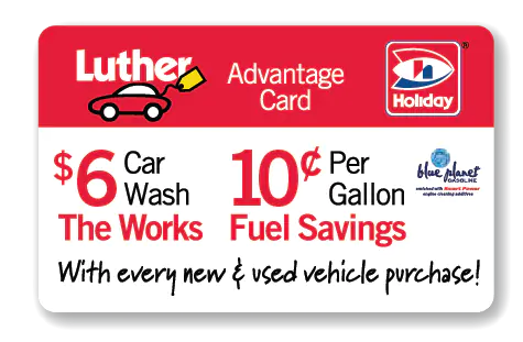 luther advantage card
