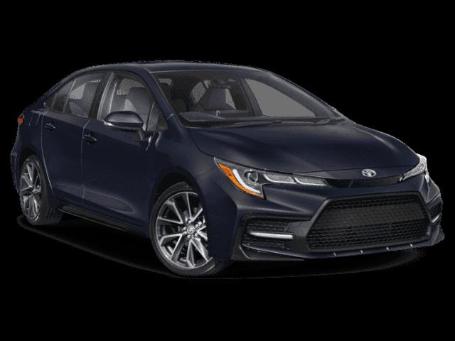 New 2021 Corolla SE
