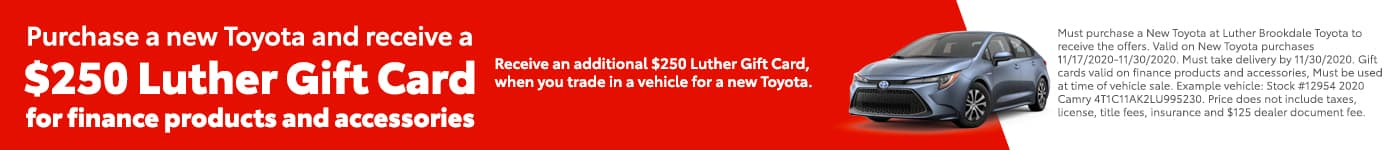 Luther Gift Card