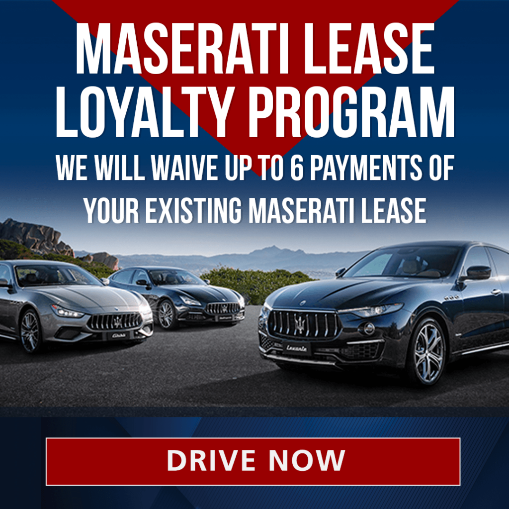 Maserati Lease Loyalty Program