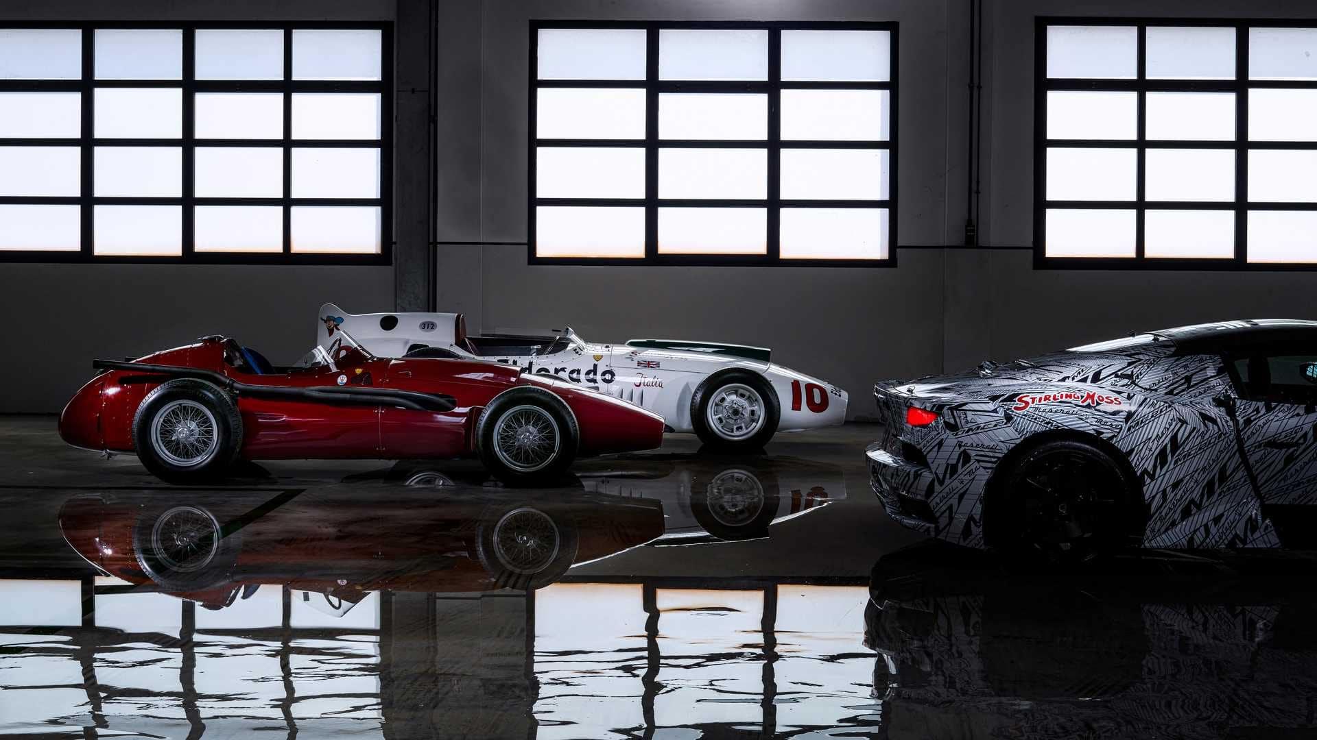 Latest Maserati MC20 Prototype Dedicated To Sir Stirling Moss