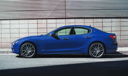 Nearly new Maserati Specials