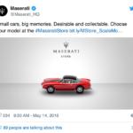 Maserati Twitter