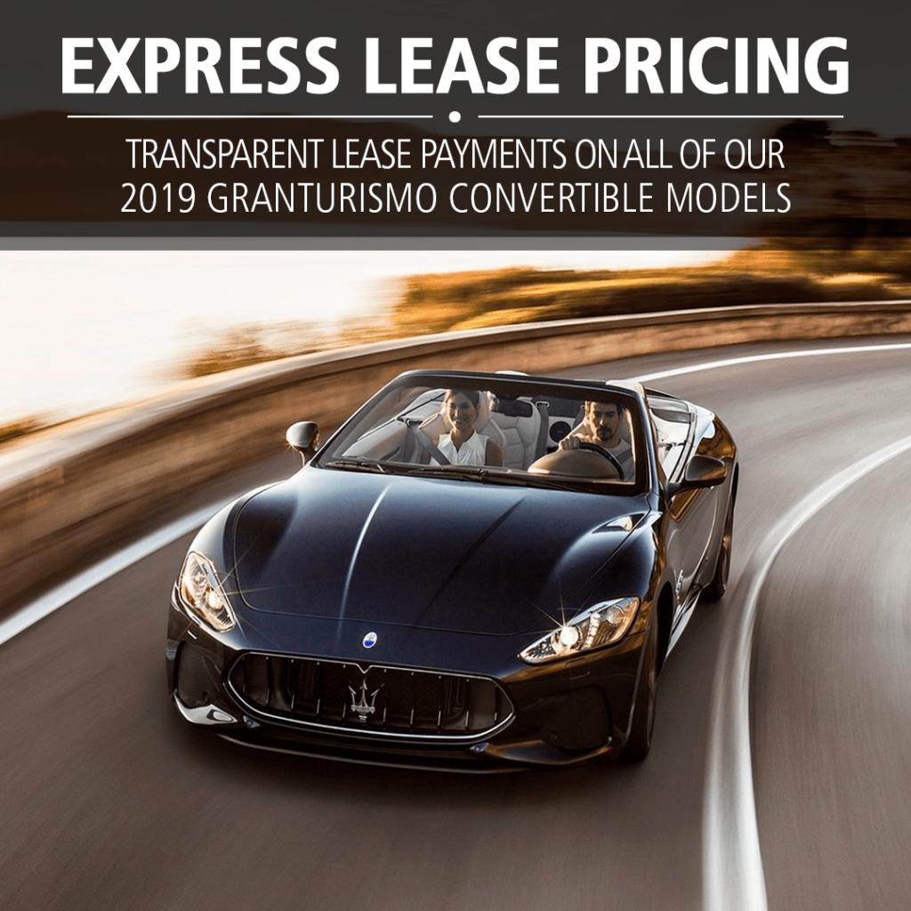 2019 Granturismo Convertible Models