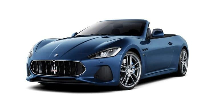 Maserati Models: GranTurismo Convertible